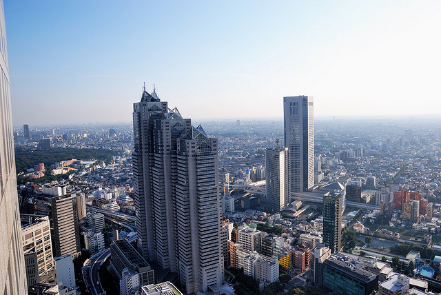 View from Tokyo Metropolitan Government Office Building