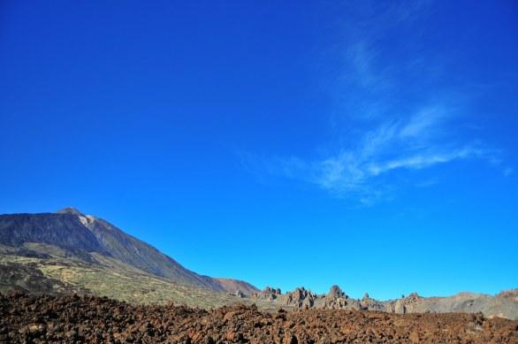 Clear Teide sky