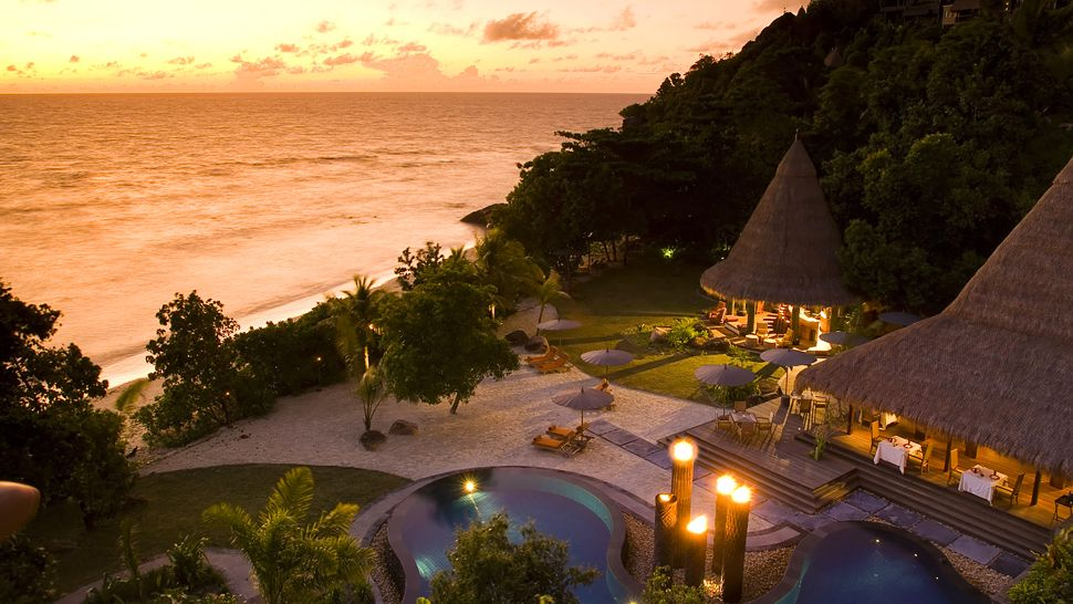 Maia Luxury Resort and Spa, Anse Louis, Seychelles,