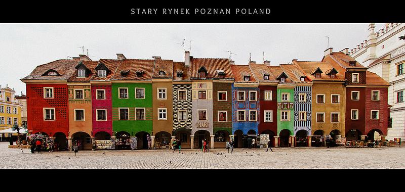 Stary Rynek Poznan, Poland