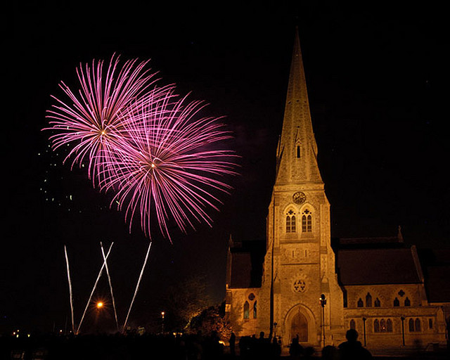 Bonfire Night on Blackheath