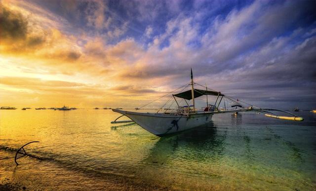 Bohol Island Morning Tide