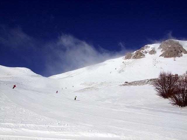 Alto Sangro skiing