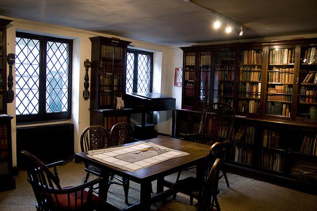 Dicken's dining room