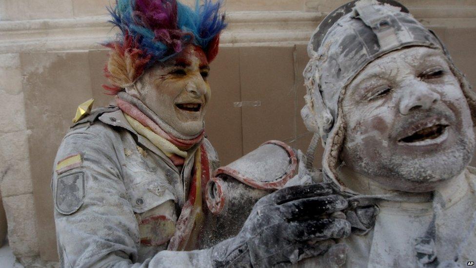 Ibi's flour battle