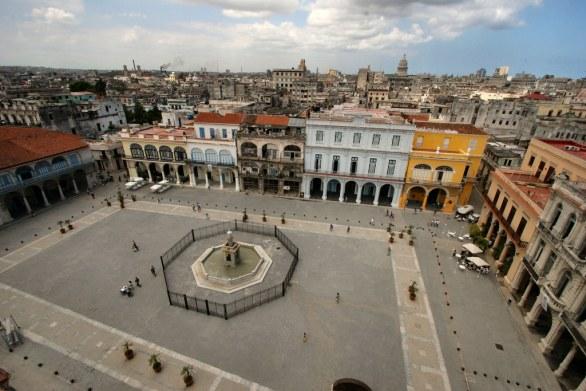 Main Square in Havana
