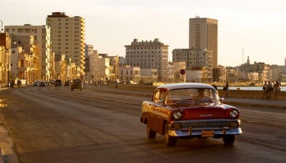 Typical car in Havana, Cuba