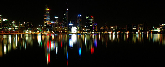 Amazing view from South Perth.