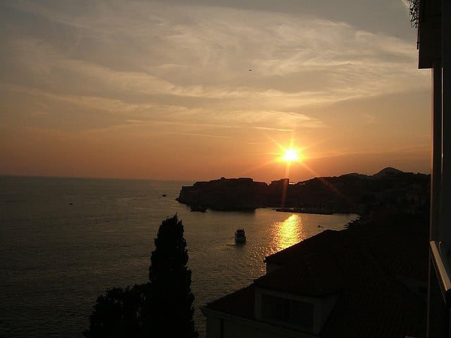 Dubrovnic Sunset