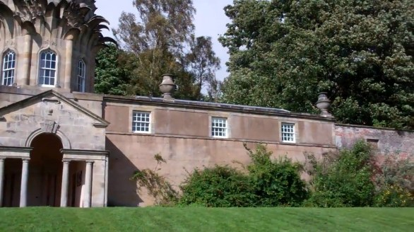 Dunmore Pineapple House in  Scotland