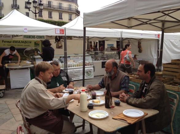 Farmer market in France