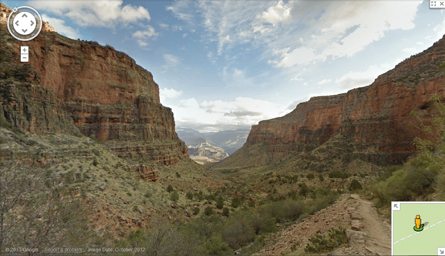 Grand Canyon Google Maps
