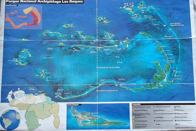 Los Roques Map