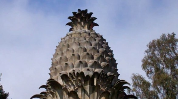 Pineapple House in Scotland