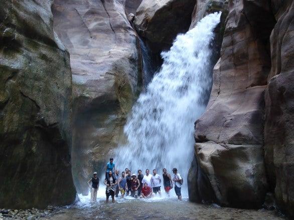 Wadi Mujib Canyoning