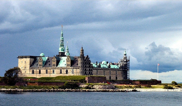 Kronborg castle, Elsinore, Denmark.