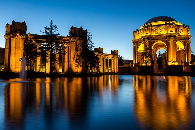 Palace of Fine Arts panoramic