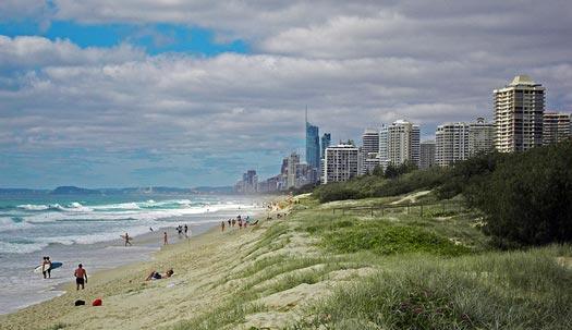 Gold Coast Oceanway, Gold Coast, Queensland, Australia
