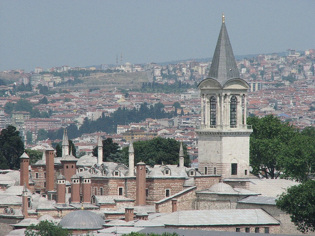 Istanbul Topkapi Palace Museum