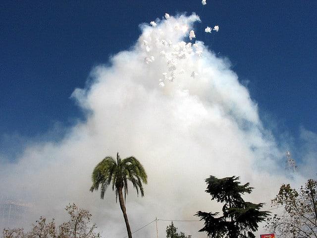 Las Fallas Fireworks, Valencia