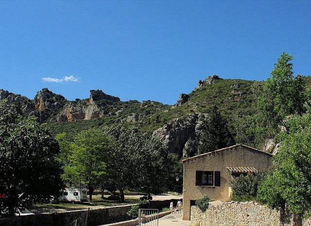Saint Guilhem le Désert Landscape