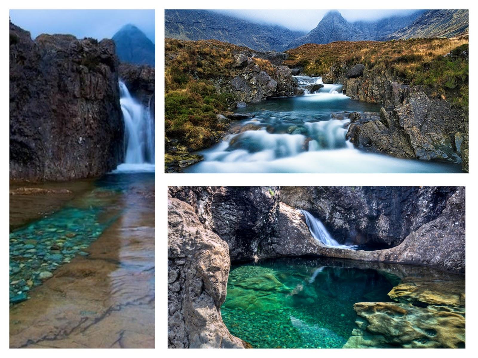 The fairy pools on Isle