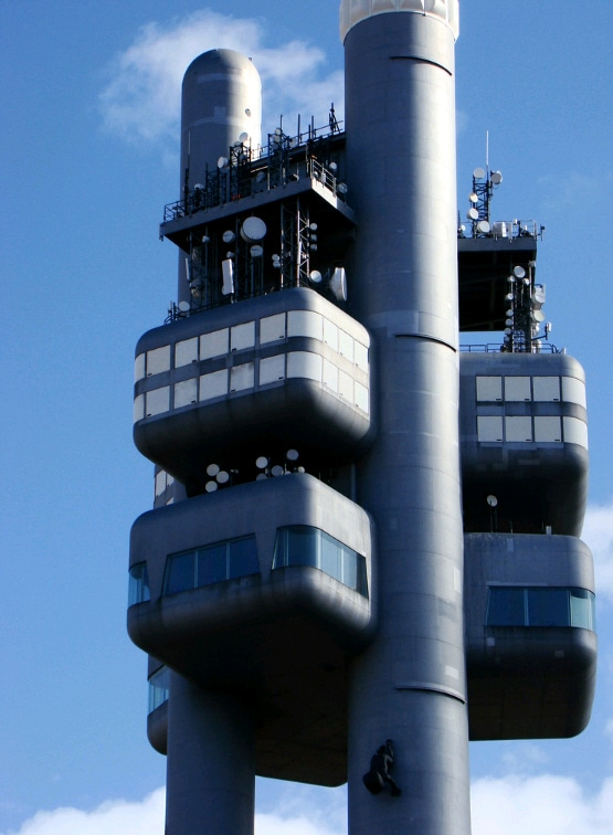 Tv tower of Prague