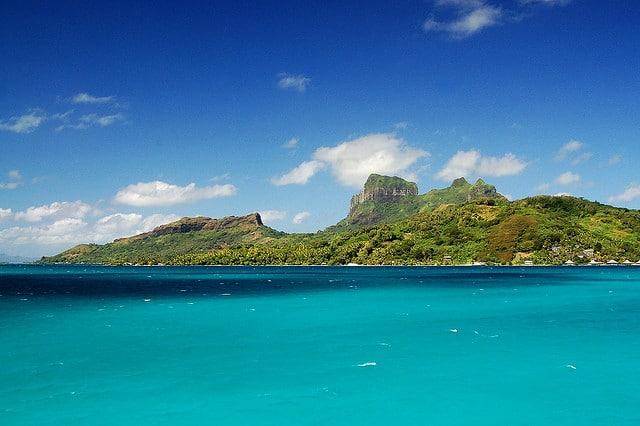 Bora Bora Clear Sky