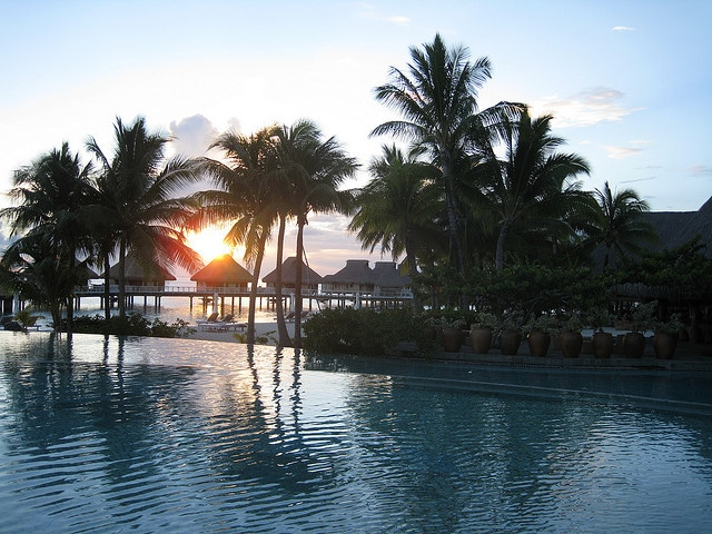 Bora Bora Nui Resort Sunset