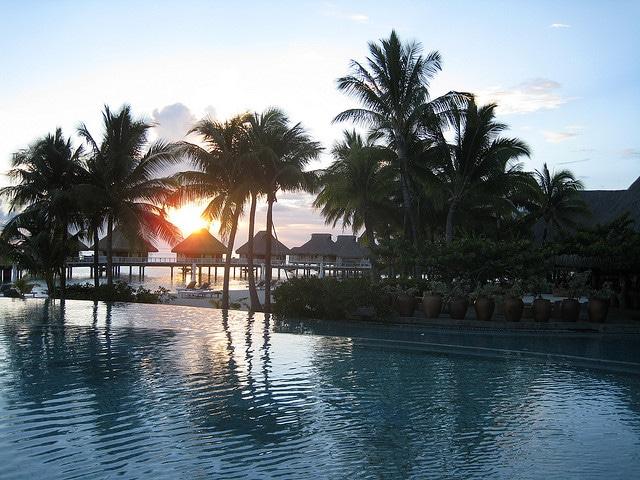 Bora Bora Nui Resort Sunset