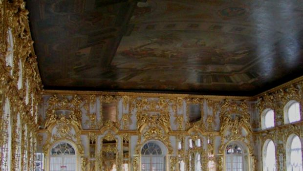 Interior of Rococo Catherine Palace