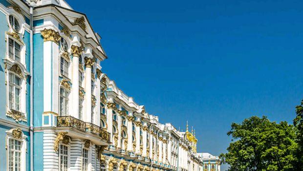 Rococo Catherine Palace Side