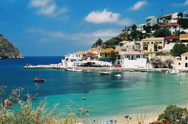 Assos, Kefalonia, Greece.