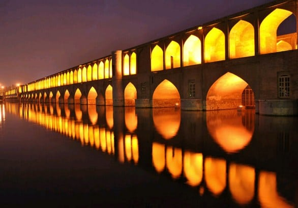 Bridge of 33 arches of Isfahan