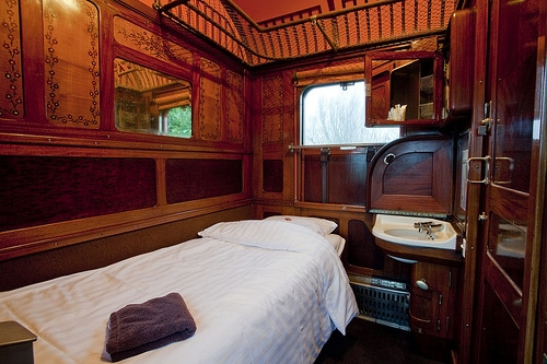 Gare Des Ann 233 Es Folles Sleeping In A Real Orient Express
