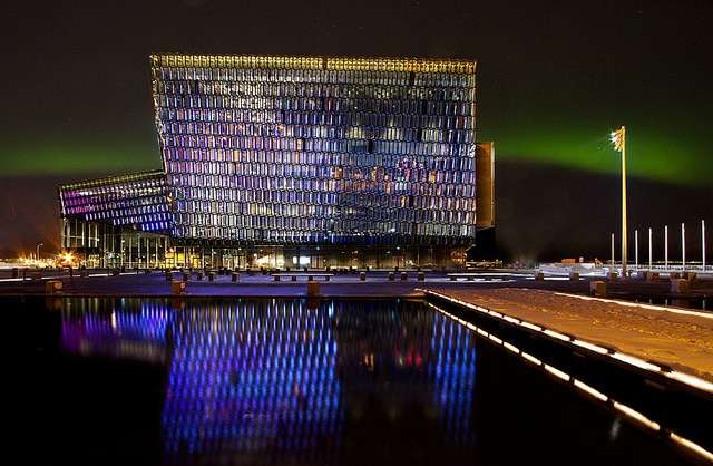 Harpa Concert Hall Side View