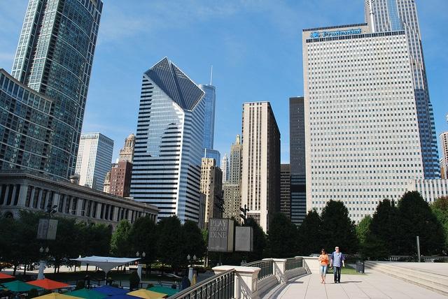 Millenium Park - The Loop - Chicago - USA