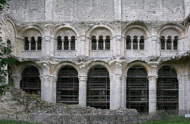 Nave - Jumièges Abbey