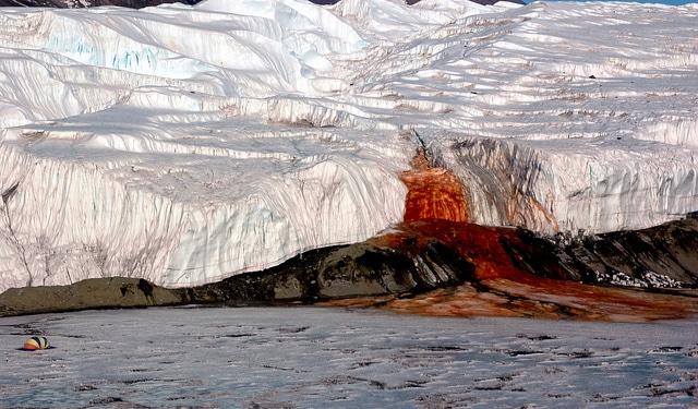 Blood Falls, East Antarctica