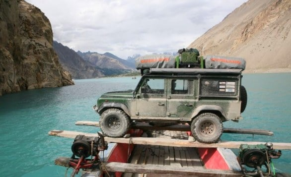 Traveling the world with a 4x4