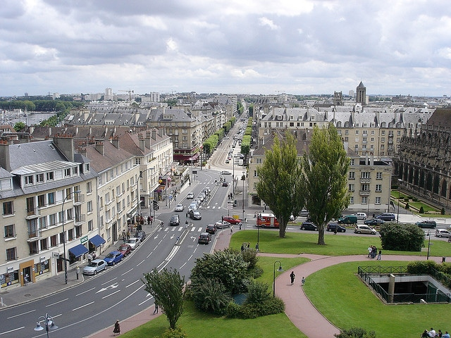 places to see in normandy france