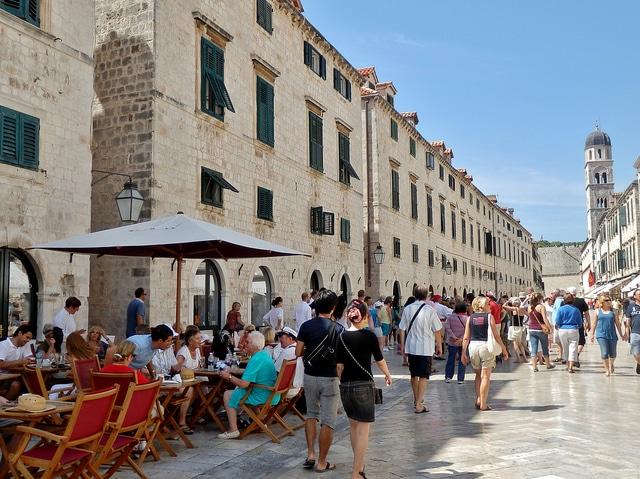 Croatia - Dubrovnik, Placa Stradun