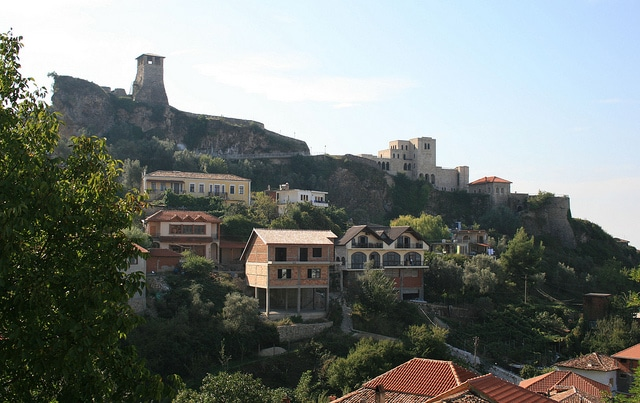 Kruje is the birthplace of Skanderbeg