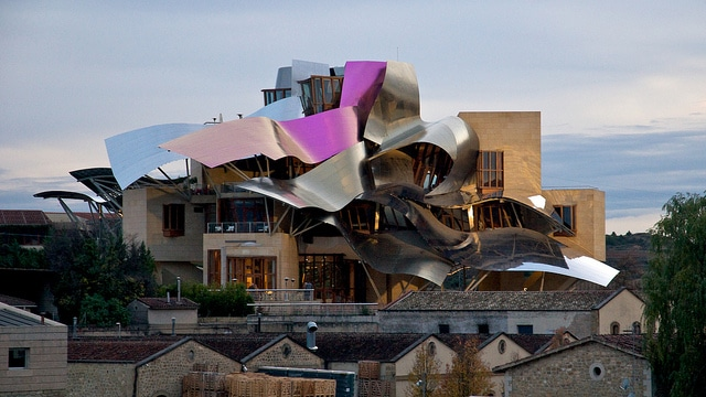 Marqués de Riscal hotel in Spain
