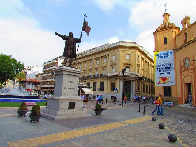 Monjas Square, Huelva