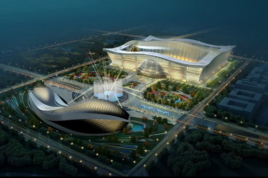 New Century Global Centre of Chengdu in China