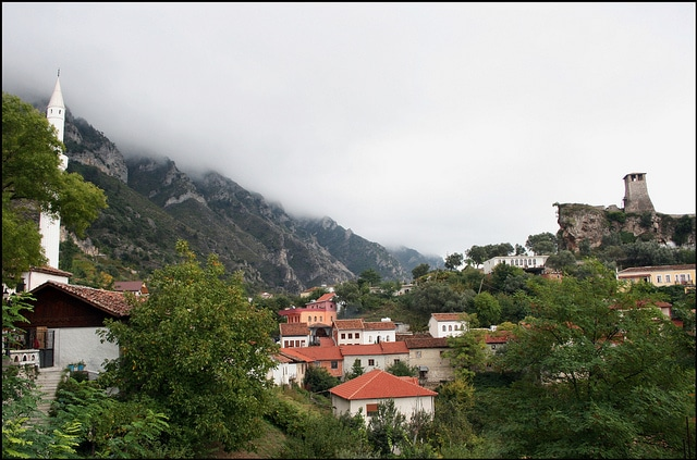 The old town of Kruje