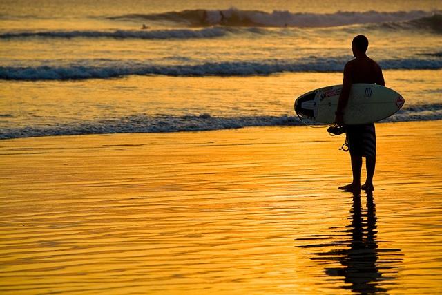 Indonesia, Bali Island, Southeast Asia, South Pacific Ocean, Kuta, Travel Destination, Kuta Beach, surfer