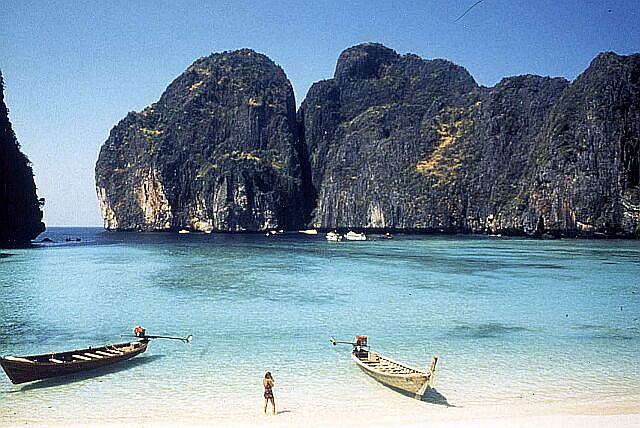 Ko Phi Phi in southern Thailand