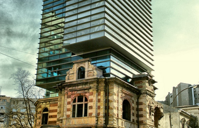 National Architects Union in Bucharest